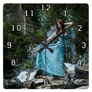 Fairy princess clock