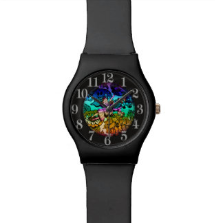 Fairy Princess Flying with Butterflies Watches