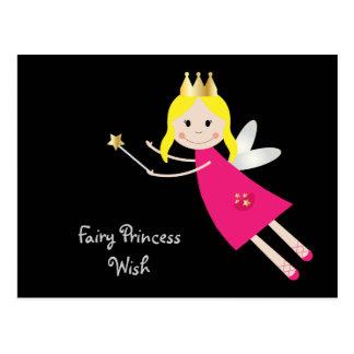 Fairy Princess Wish postcard