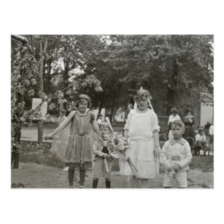 Fairy Princesses (and little brothers) Postcard