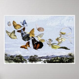 Fairy Print by Richard Doyle 1870