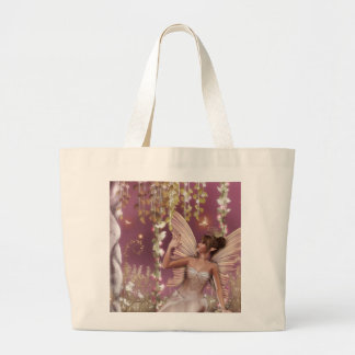 Fairy Queen Large Tote Bag