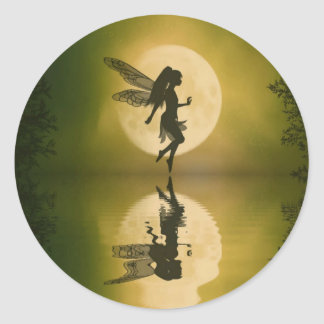 Fairy Reflect Classic Round Sticker