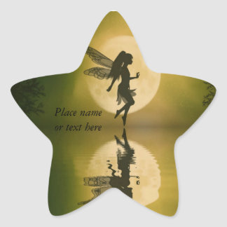 Fairy reflect fairy star sticker