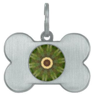 Fairy Ring Kaleidoscope Pet ID Tags