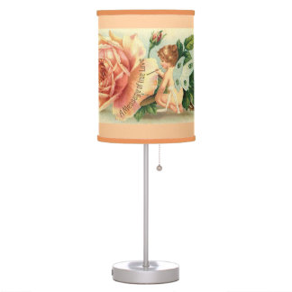 Fairy rose table lamp