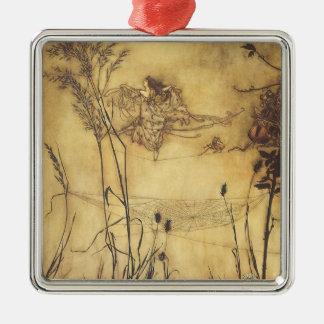 Fairy s Tightrope by Arthur Rackham Vintage Art Ornament