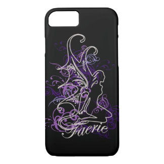 Fairy Scroll Faerie purple Case-Mate iPhone Case