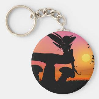 Fairy set Siluetts Keychain