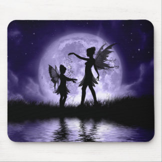 Fairy Sisters Mousepad