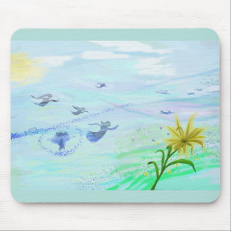 fairy skypainting on mousepad