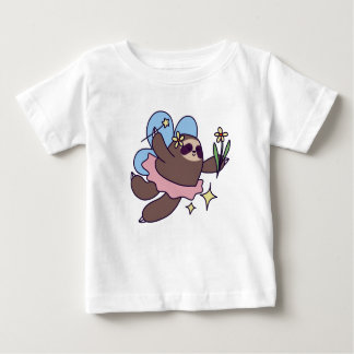 Fairy Sloth Baby T-Shirt