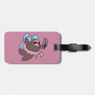 Fairy Sloth Luggage Tag