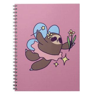 Fairy Sloth Notebook