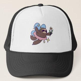 Fairy Sloth Trucker Hat