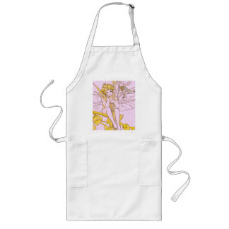 Fairy smile has the flowers sat ON a branch Long Apron