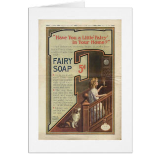 Fairy Soap Ad, Card