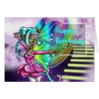 """Fairy Sparkle Standard (5""""x7"""") Birthday Cards"""