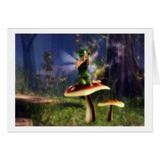 Fairy sparkles card