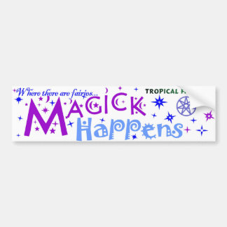 Fairy Sticker - magick happens...