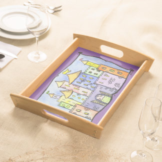 Fairy Tale Castle Tea Party Serving Tray