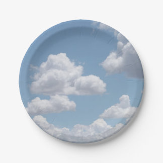 Fairy Tale Clouds Paper Plates