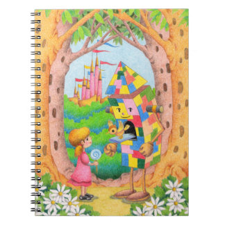 Fairy tale country notebook