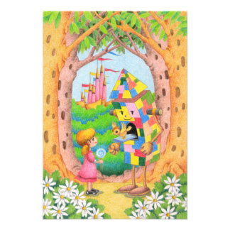 Fairy tale country photo print