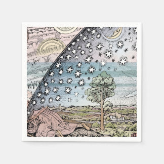 Fairy Tale Illustration Paper Napkin