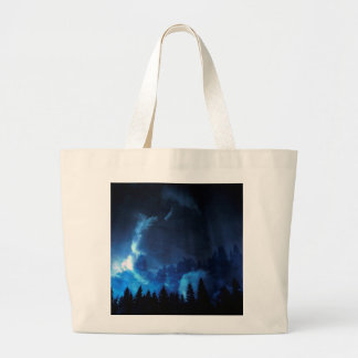 Fairy Tale Landscape Large Tote Bag