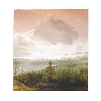 Fairy Tale Landscape Notepad