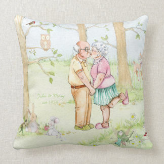 Fairy Tale Love - Anniversary - Throw Pillow