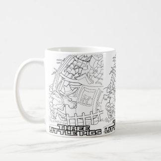 Fairy tale mug Three Little Pigs