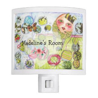 Fairy Tale Night Light Humpty Dumpty Nursery Decor