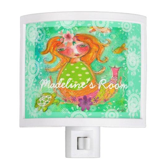 Fairy Tale Night Light Mermaid Sweet Story