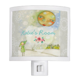 Fairy Tale Night Light Moon and Back