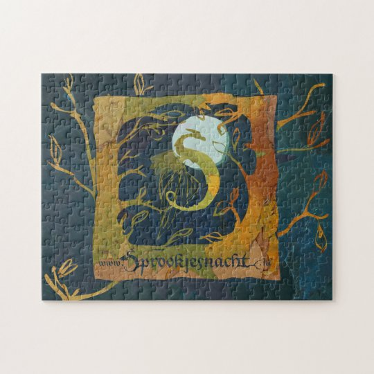 fairy tale night puzzle colour
