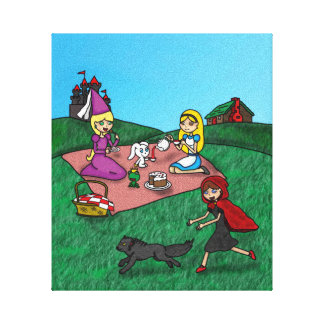 Fairy Tale Picnic Canvas Print