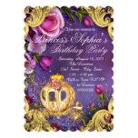 "Fairy Tale Princess Birthday Party 5"" X 7"" Invitation Card"