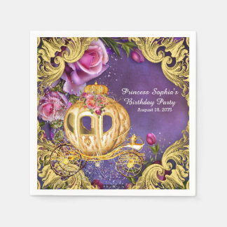 Fairy Tale Princess Birthday Party Paper Napkins