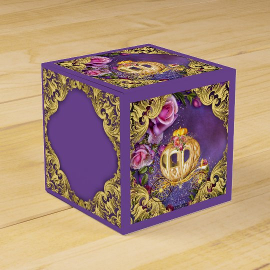 Fairy Tale Princess Favor Box