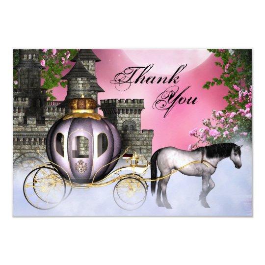 Fairy Tale Princess Flat Thank You Cards