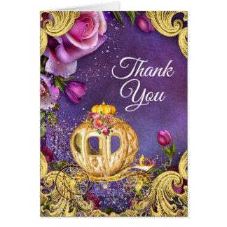 Fairy Tale Princess Thank You Cards