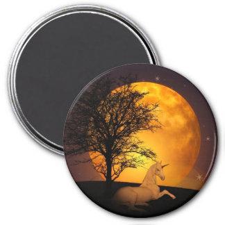 Fairy Tale Unicorn Full Moon Magnet