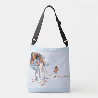 fairy tale wedding crossbody bag