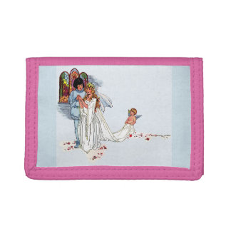 fairy tale wedding tri-fold wallet