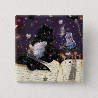 Fairy Tales! 2 Inch Square Button