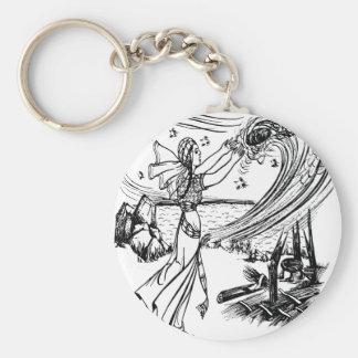 fairy-tales basic round button keychain