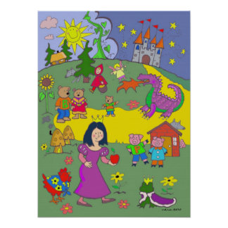 Fairy Tales by Vera Trembach Poster