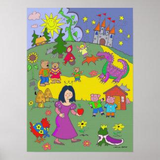 Fairy Tales by Vera Trembach Print